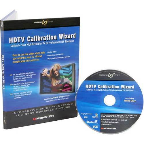 Monster ISF HDTV Calibration DVD (Brings out your HDTV's Full Potential)