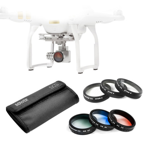 Sky Capture Series Special Effects Filter Kit for Select DJI Phantoms (6 Piece)