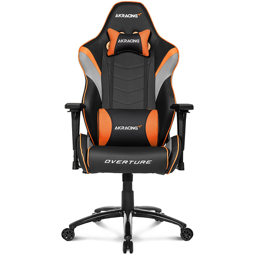Overture Series Super-Premium Gaming Chair in Orange - AK-OVERTURE-OR-NA