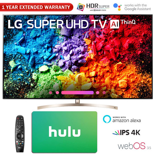 LG 55` Super UHD 4K HDR AI Smart TV w/ Nano Cell + Gift Card & Warranty Pack