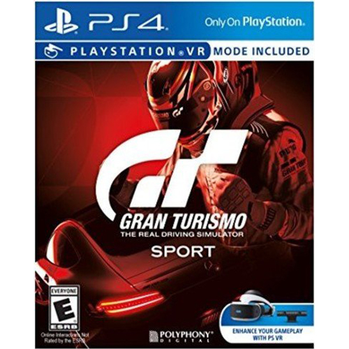 Sony Gran Turismo Sport Video Game for PlayStation 4 - 3001105