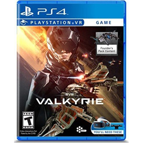 Sony Eve Valkyrie Video Game for PlayStation 4 - 3001937
