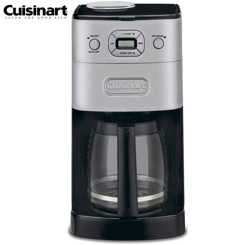 Cuisinart Grind & Brew 12-Cup Automatic Coffee Maker (Certified Refurbished)