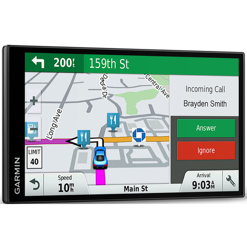 Garmin DriveSmart 61 NA LMT-S 6.95` GPS w/ Smart Features Refurbished 1 Year Warranty