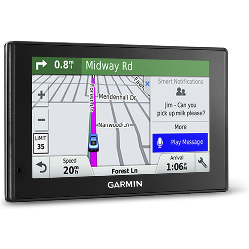 Garmin DriveSmart 50LMT GPS Navigator, Refurbished 1 Year Garmin Warranty