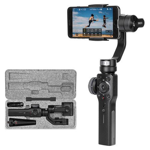 Zhiyun Smooth 4 3 Axis Handheld Gimbal Camera Stabilizer for Smartphones - ZHSMOOTH4
