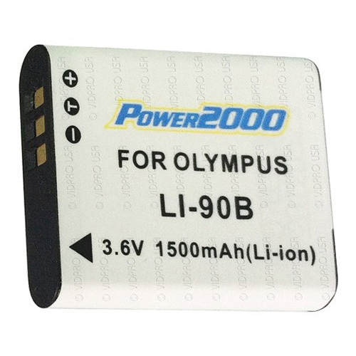 LI-90 Battery for Olympus TOUGH TG-1 & TG-2, TG3 & SH50 Digital Camera