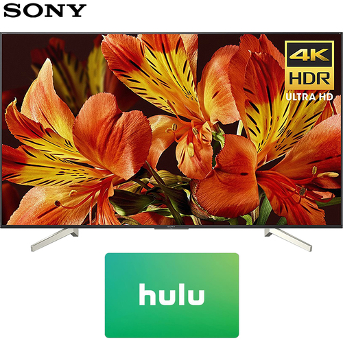 Sony XBR75X850F 75-Inch 4K UHD Smart LED TV (2018) w/ Hulu $50 Gift Card