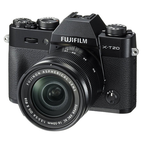 Fujifilm X-T20 Mirrorless Digital Camera w/ XC16-50mm F3.5-5.6 OISII Lens Kit (OPEN BOX)