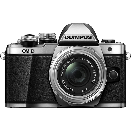 Olympus OM-D E-M10 Mark II Mirrorless Digital Camera with 14-42mm II R Lens (OPEN BOX)