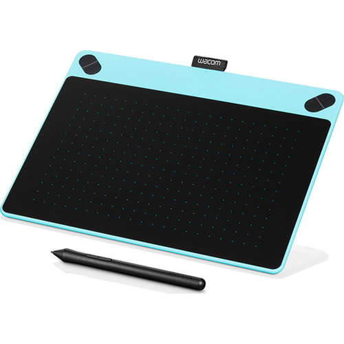 Wacom Intuos Art Pen and Touch Tablet - Medium Blue (OPEN BOX)
