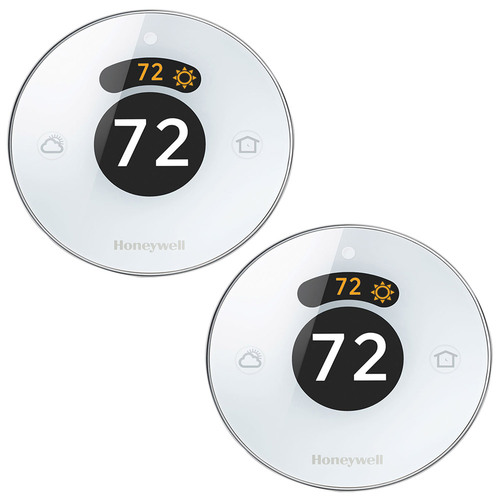 Honeywell Lyric Round Wi-Fi Thermostat Second Generation 2-Pack (RCH9310WF5003/W)
