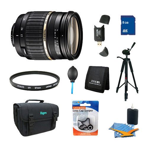 Tamron 17-50mm f/2.8 XR Di-II LD Aspherical [IF] SP AF Zoom Lens Pro Kit for Canon EOS