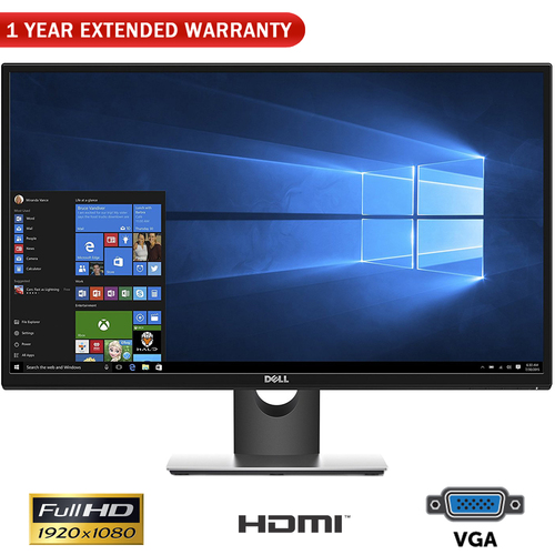 Dell RVJXC 27` Full HD 1920 X 1080 Monitor + 1 Year Extended Warranty