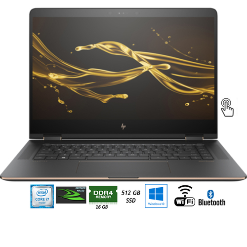 Hewlett Packard 15-CH011NRREF Spectre x360 15.6` i7-8550U 2-in-1 Touch Laptop - (Refurbished)