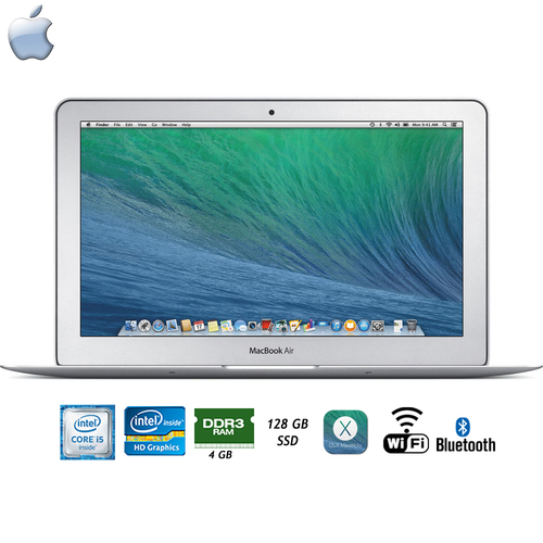 Apple 11.6` 128GB MacBook Air Laptop - 1.4GHz Intel Core i5 Processor - (Refurbished)