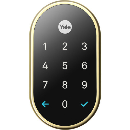Nest x Yale Lock with Nest Connect - (Polished Brass)