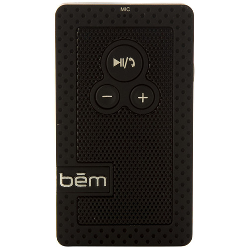 Bem Hands Free Visor Speakerphone and Bluetooth Speaker - OPEN BOX