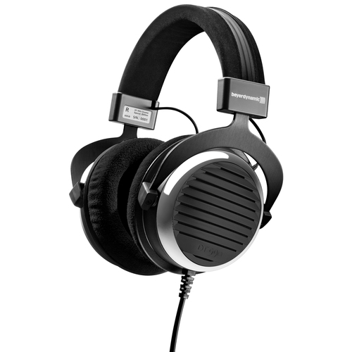 BeyerDynamic DT-990 600 Ohm Over-Ear Open Back Headphones - Brushed Chrome - Special Edition