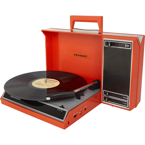 Crosley Spinnerette Portable USB Turntable w/ Audio Editing Software (OPEN BOX)