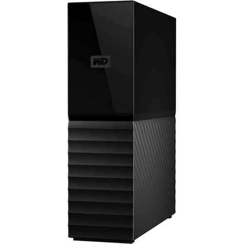 Western Digital My Book 8TB Desktop Hard Drive and Backup System - Black - WDBBGB0080HBK-NESN