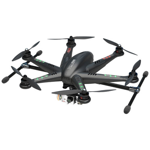 Walkera TALI H500 Ready to Fly Hexcopter w/ DEVO 5` LCD Remote, HD Camera, & G-3D Gimbal