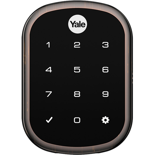 Yale Locks Assure Lock SL with Z-Wave in Bronze (OPEN BOX)