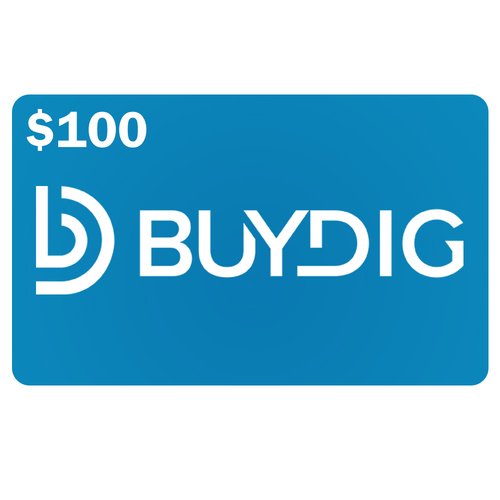 Buydig $100 Gift Card Valid on Any Single Purchase of $100 or more at Buydig.com