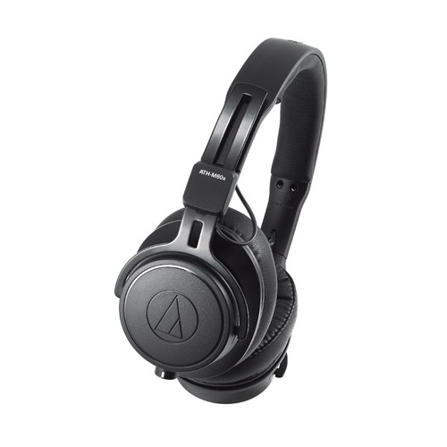 Audio-Technica ATH-M60X Closed Back Dynamic Professional Monitor Headphones