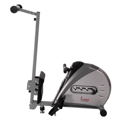 Sunny Health and Fitness Elastic Cord Rowing Machine Rower w/ LCD Monitor - (SF-RW5606)