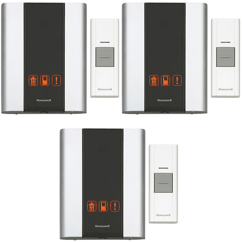 Honeywell Premium Portable Wireless Door Chime & Push Button (RCWL300A1006/N)