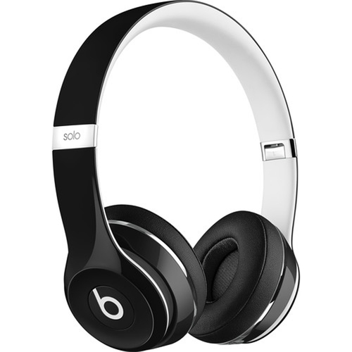 Beats By Dre Solo 2 Luxe Edition On-Ear Headphones - Black - (ML9E2AM/A) - Open Box