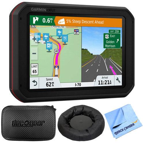 Garmin dezlCam 785 LMT-S GPS Truck Navigator w Dashcam + Accessories Bundle