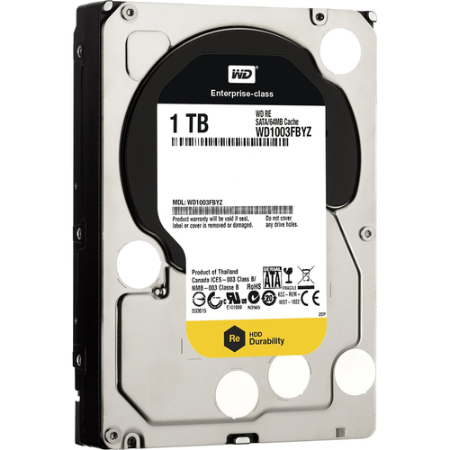 Western Digital 1TB SATA 6GB/S 7.2K RPM LFF HDD DISC PROD SPCL SOURCING SEE NOTES