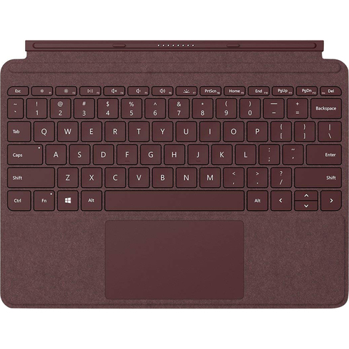 Microsoft KCS-00041 Surface Go Signature Type Cover, Burgundy