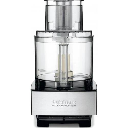 Cuisinart 14-Cup Large Food Processor with 720 Watt Motor in Stainless Steel Refurbished