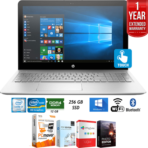 Hewlett Packard 15-as020nr ENVY Intel i7 15.6` Notebook Laptop+Extended Warranty Pack