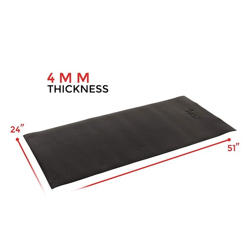 Sunny Health and Fitness 4' x 2' Fitness Equipment Floor Mat