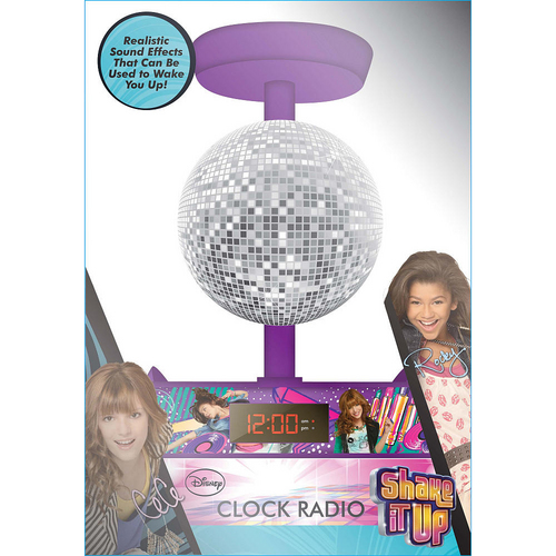 Shake It Up Disco Ball Alarm Clock Radio