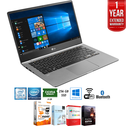 LG 13.3` Ultra-Lightweight Touchscreen Laptop Core i5 + Extended Warranty Pack