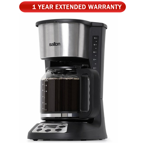 Salton 14 Cup Coffee Maker with /Extended Warranty