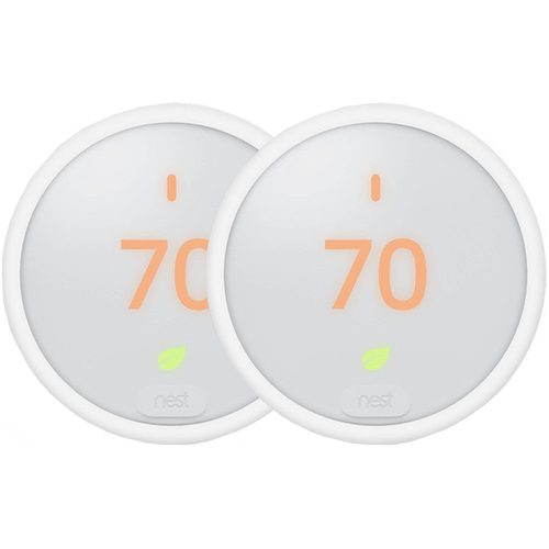 Google Nest Thermostat E White (T4000ES) 2-Pack