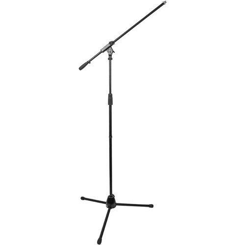 Deco Mount Lightweight Professional Tripod Microphone Stand with Boom Arm MSB100BK