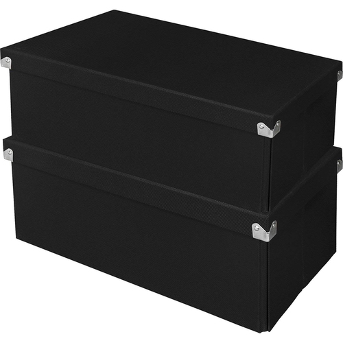 Samsill Essential Box Blk 2pk