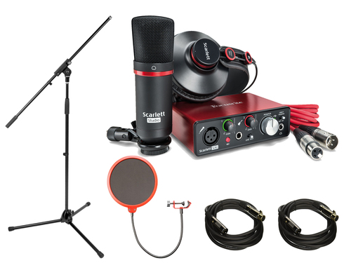 Focusrite Scarlett Solo Studio Pack 2nd Generation & Recording Bundle w/ Pro Tools