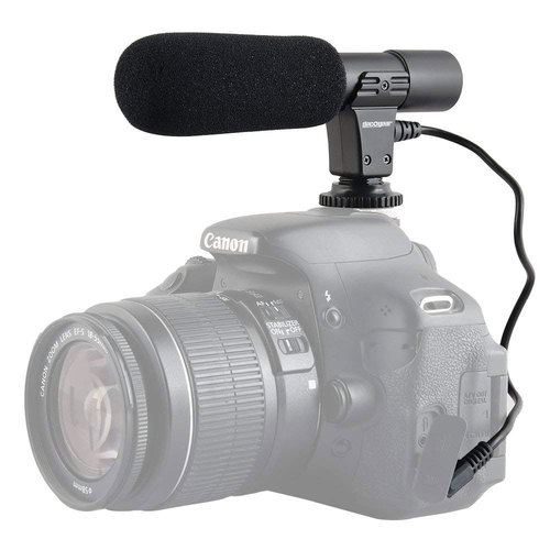 Universal Mini Condenser Shotgun Microphone for Digital Cameras and Camcorders