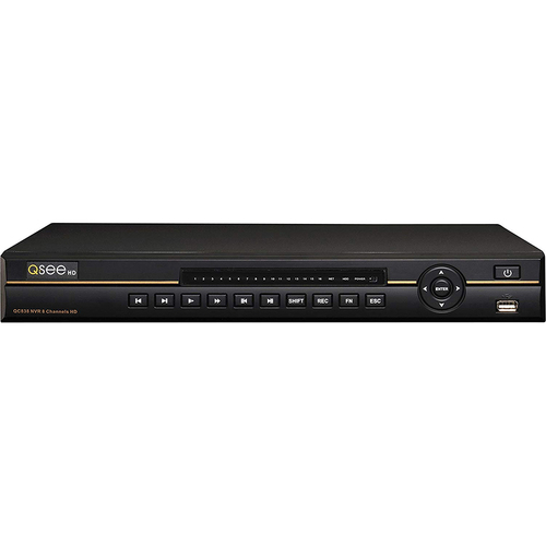 Q-SEE 8CHANNEL 3MP NVR 3TB HDD