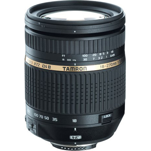 Tamron 18-270mm f/3.5-6.3 DI II VC  LD Aspherical for Nikon With 6-Year USA Warranty