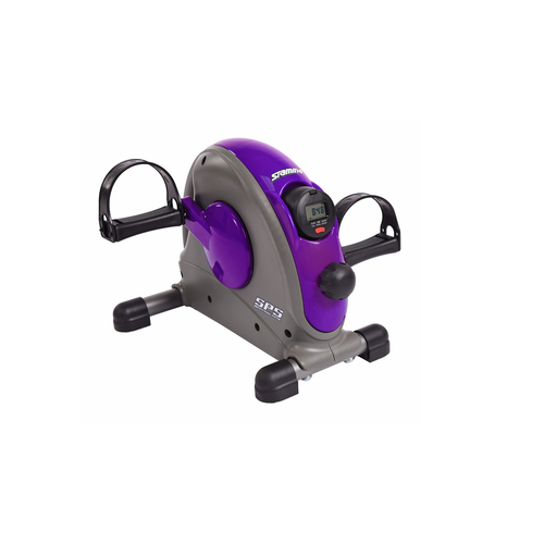 Mini Exercise Bike with Smooth Pedal System, Purple