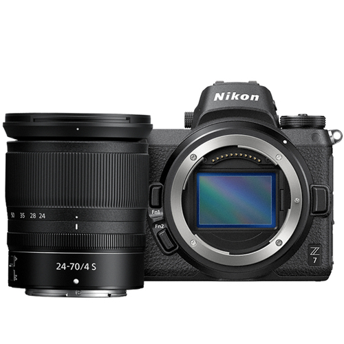 Z7 FX-Format 4K Mirrorless Camera with NIKKOR Z 24-70mm f/4 Lens